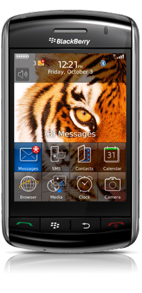 Blackberry Storm Home Screen